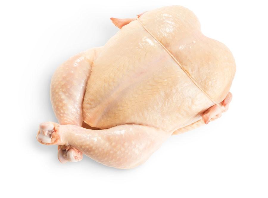 Poulets entiers